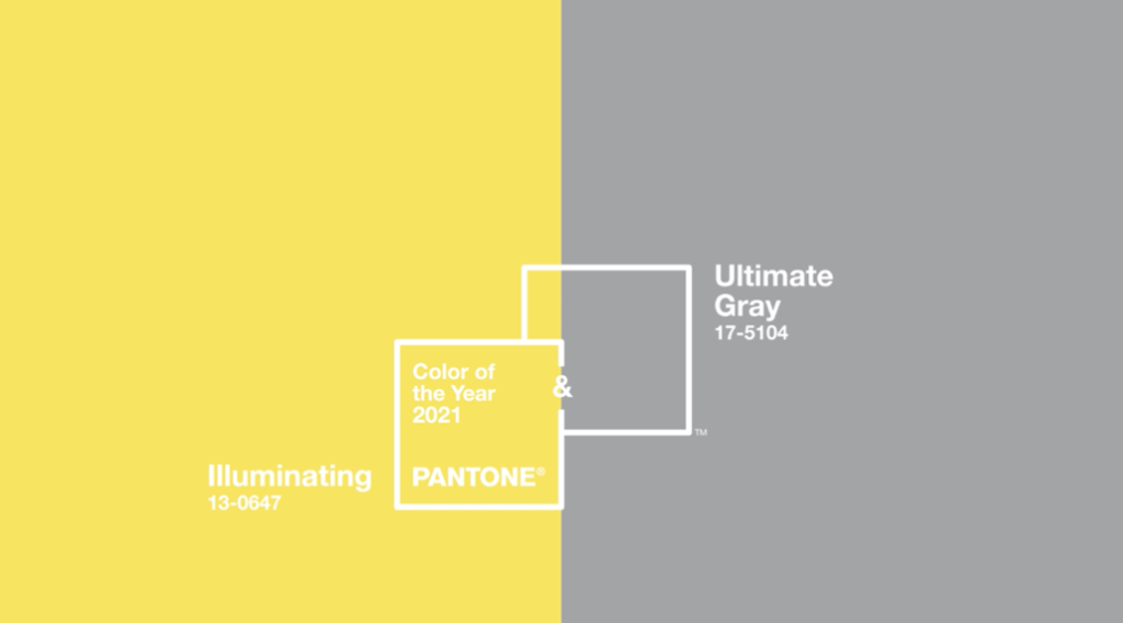 Pantone anuncia los colores de 2021